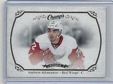 2015-16 ANDREAS ATHANASIOU UPPER DECK CHAMP'S ROOKIE CARD #159  RED WINGS