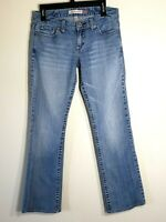 AEROPOSTALE Women's Chelsea Bootcut Medium Wash Blue Jeans size 9/10 Long