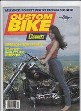 Vintage CUSTOM BIKE Magazine August 1982