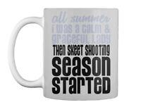 Skeet Shooting Season Started Gift Coffee Mug