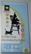 A CHILD'S YEAR cricut shapes cartridge  - USED