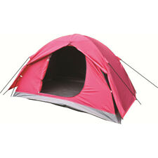 Highlander Birch 2 Person Dome Tent Easy Pitch Camping Festivals Cadet Tango Red