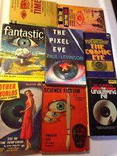 THE BIG EYE OF SCI FI! 8 Sci Fi Lot PB Mack Reynolds D G Compton Lewis Padgett