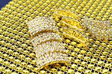 Charming Diamante Rhinestone buckles clusters Ribbon Slider Wedding Decoration