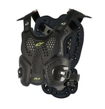 New M/L Adult Alpinestars A1 Roost Guard Body Armour BLACK/ANTHRACITE M/L