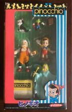 YUTAKA Disney Movie Friends PINOCCHIO Figure Toy Set Vintage Rare F/S from Japan