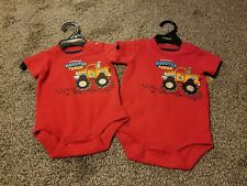 Lot Of 2 Carhardt Baby One Piece size 3 months & 6 months