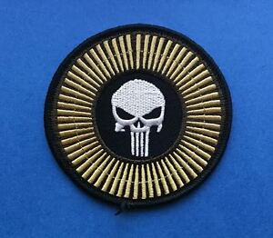 The Punisher Comic Cartoon Iron On Hat Jacket Backpack Hoodie Patch Crest