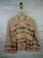 vtg Coogi Cosby Style  Dortus amanus Lambswool sweater jumper refA21 Womens M/L