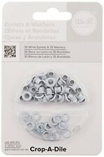 We R Memory Keepers Standard Eyelets and Washers, Pack of 70, White