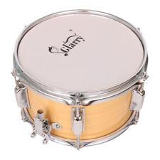 Glarry 10 Inch Snare Drum Drumstick Percussion Set Drum Sticks Strap Key