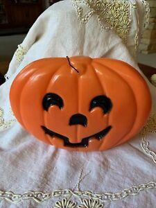 Vintage Halloween Jack-o-Lantern Pumpkin Blow Mold Decor