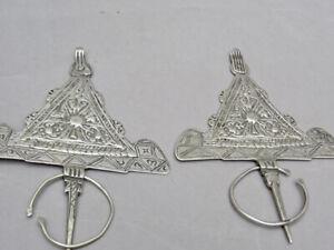 Paar Ringnadel (Fibula) Roc Certicate D'