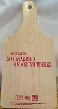 So I Married An Axe Murderer Promo Cutting Board New 02