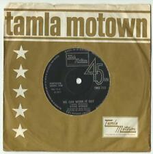 FOUR TAMLA MOTOWN SINGLES.