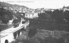 Barcelona Spain Paseo de la Bonanova Real Photo Antique Postcard J58156