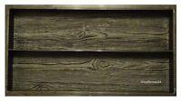 Eine Schalungsform / Gips und Beton Gießformen für Palisade / Gehweg Holz Brett