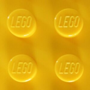LEGO Bricks Tiles Parts in Bright Yellow - Choice New