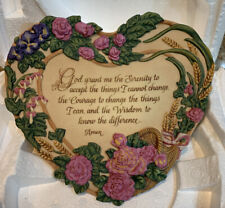 Bradford Exchange Ltd. Ed. Serenity Prayer 3rd Issue in Bless this Home  524A