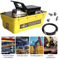 700bar 23l Air Hydraulic Pump Foot Operated Pump With 2m High Pressure Tubing
