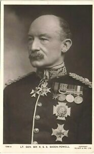 Boy Scouts. Lieutenant General Sir R.S.S.Baden-Powell # 1249A by Beagles.