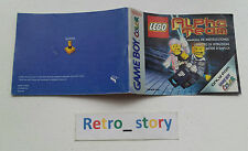 Nintendo Game Boy Color Lego Alpha Team Notice / Instruction Manual