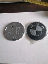 Bmw bonnet badge 82mm Carbon 3 Series. 4 Series. 5 Series 6 series