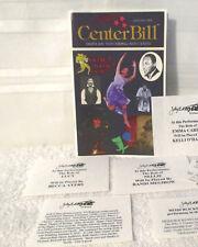 Jan. 2000 Center Bill program book Tampa Bay Performing Arts Center plus extra's