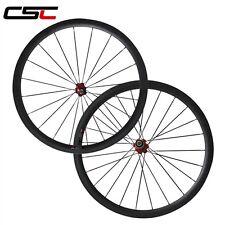 38mm tubular carbon road bike wheels/700C carbon wheelset