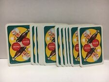 "ITALIAN ""BEVETTE"" COCA-COLA PLAYING CARDS -MINT IN CELLOPHANE AND IN BOX"