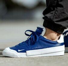 Nike Drop-Type Prm low N.354 men's sneakers shoes size 10.5 royal blue/white