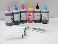 Bulk 600ml refill ink for HP photosmart 02 cartridge