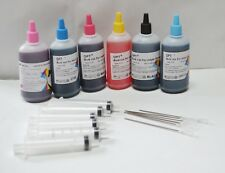 Non-OEM Bulk 600ml refill ink for Epson 1400 925 Artisan 1430