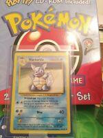 WARTORTLE - Base Set - 42/102Uncommon Pokemon Card - Unlimited Edition - NM!!!!