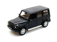 Mercedes Benz G Class in Black (1:24 scale by Welly 24012K)