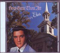 ELVIS PRESLEY CD HOW GREAT THOU ART  COMPLETE ALBUM