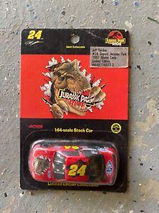 Jeff Gordon #24 Dupont 1997 Jurassic Park The Ride 1:64 Scale Nascar Stock Car