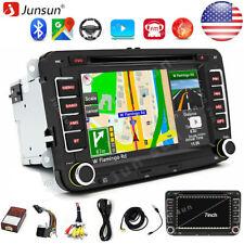 "7"" 2 din Car Cd Radio Stereo Dvd Player Gps Navigation For Vw Golf 6 Passat Eos"