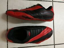 Adidas Goodyear trainers Size 6 1/2 black red
