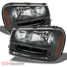 2002-2009 Chevy Trailblazer Replacement Headlights Lamps 02 03 04 05 06 07 08 09