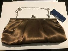 AMORNI Dublinbrn satin framed clutch Women's Fashion Carry Bag Purse - #A39