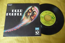 "DEEP PURPLE"" FIREBALL- DISCO 45 GIRI HARVEST Italy  1971"""