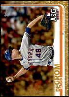 Jacob deGrom 2019 Topps Update 5x7 Gold #US267 /10 Mets