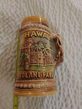 Hawaiian Souvenir Beer Stein Featuring Iolani Palace