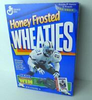 Honey Frosted Wheaties Deion Sanders Dallas Cowboys 21 1996 Empty Box