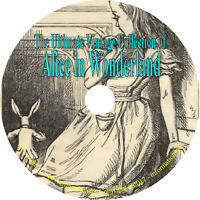 18 Classic Books on CD Ultimate Collection of Alice in Wonderland, Lewis Carroll
