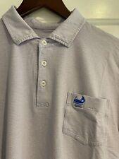 Maidstone - Men's B. Draddy Golf Pima Stretch Polo - Light Purple Stripe - Med