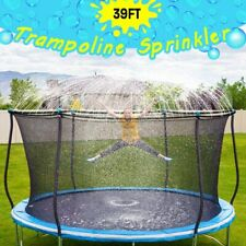 Trampoline Sprinkler-Trampoline Sprinkler Kids Outdoor Spray Water park 39 ft