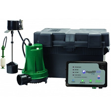 Zoeller 508 0014 Aquanot Fit Battery Backup Sump Pump System 7a Charger W