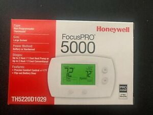 Honeywell TH5220D1029 Non-Programmable Digital Thermostat Large Display